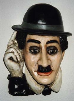 Charli Chaplin /V. Židek/  * Charlie Chaplin von V.Zidek